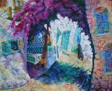 Paintings - BOUGANVILLEA