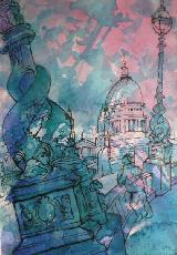 Works On Paper - ST. PAUL'S CATHEDRAL - LONDON